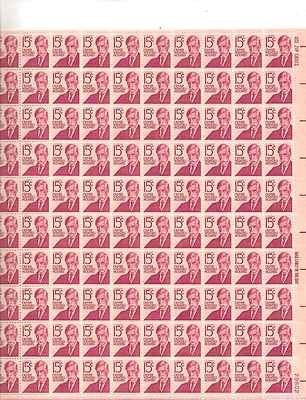 Oliver Wendell Holmes Sheet of 100 x 15 Cent US Postage Stamps NEW Scot 1288