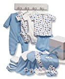 Carters 22 Piece Essentials Gift Set, Blue