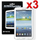 Fintie 3 Pack Ultra-Clear Screen Protector With Retail Package for Samsung Galaxy Tab 3 7.0 inch Tablet