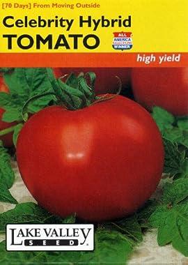Lake Valley 303 Tomato Bush Celebrity Hybrid Seed Packet
