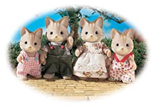 Striped Cat Family (Sylvanian Families)