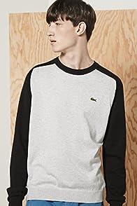 L!ve Cotton Jersey Color Blocked Raglan Sweater
