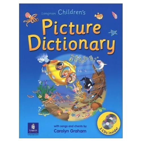 قاموس الصور للاطفال من لونجمان - Longman Children's Picture Dictionary 51KKTBJZZNL._SS500_