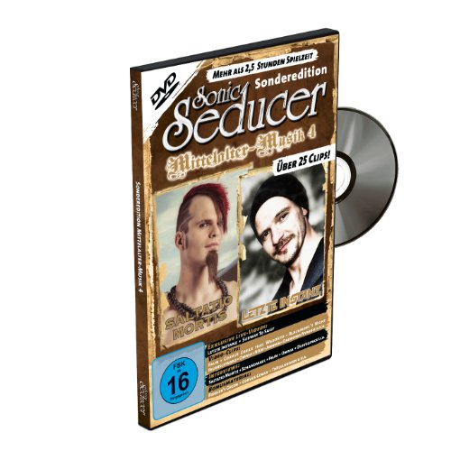 DVD Sonic Seducer Sonderedition Mittelalter-Musik 4 mit über 25 Clips + Magazin + 2 exkl. Sticker von Subway To Sally und Saltatio Mortis, Bands: ... Faun, Schandmaul, Corvus Corax u.v.m.