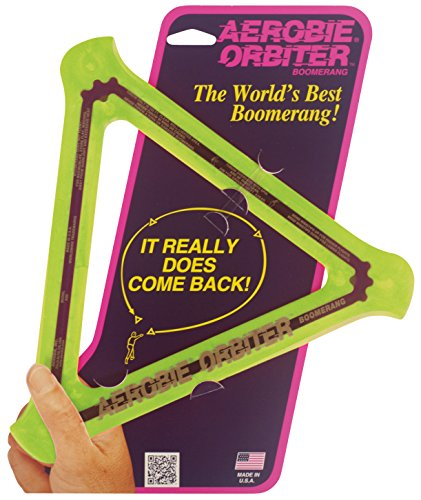 Aerobie Orbiter Boomerang Single Unit Colors May Vary