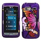 LG: GR700 (Vu Plus) , Best Friend Purple Phone Protector Cover
