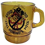 AVOID THE NOID ドミノピザ クリアプラスチック マグカップ アメリカ雑貨 アメリカン雑貨