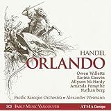 ヘンデル : 歌劇 「オルランド」 (全曲) HWV31 (Handel : Orlando / Pacific Baroque Orchestra , Alexander Weimann) (3CD) [輸入盤] [Box Set]