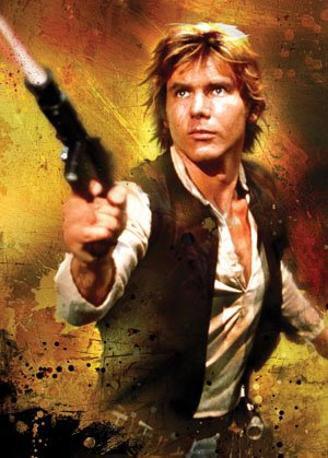 Star Wars Limited Edition Art Sleeves Han Solo (50 Sleeves/Pack)