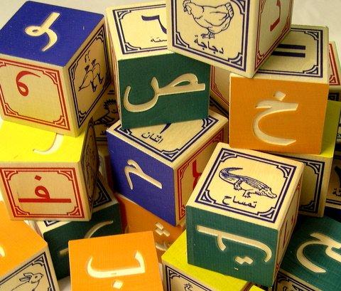 Buy Arabic Wooden Alphabet Blocks