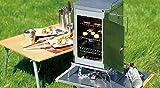 UNIFLAME【すぐに使えるスモーカーセットです!】ユニフレ フォールディングスモーカーFS-400&ウッドサクラ4本セット