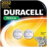 Duracell Long-Life Lithium Button Cell Batteries - 2 Pack - Model DL-2032