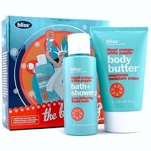 """Bliss """"The Big Orange"""" Body Butter & Shower Gel Gift Set from Bliss"""