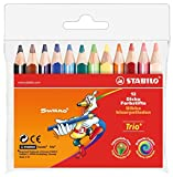 STABILO Trio Mini Colouring Pencils 12 Pack