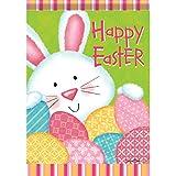 Carson Bunny & Eggs Garden Flag 45794