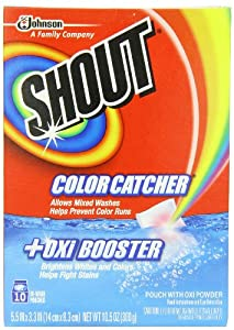Shout Color Catcher with Oxi, 10 Count (Pack of 2)