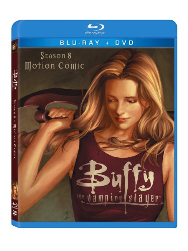 Buffy The Vampire Slayer: Season 8 Motion Comic (Two-Disc Blu-Ray/Dvd Combo)