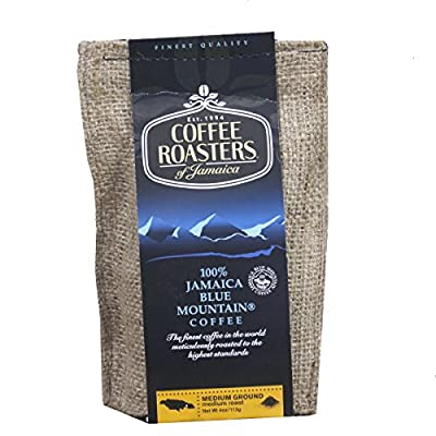 Blue Mountain Coffee 100% Jamaica Roasted and Ground by Coffee Roasters by Coffee Roasters of Jamaica