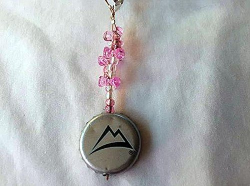 coors-light-silver-black-mountain-and-light-pink-tribead-upcycled-bottlecap-keychain-charm