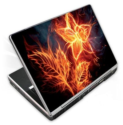 Design Skins für Acer Aspire 5253 - Electro Flower Design Folie