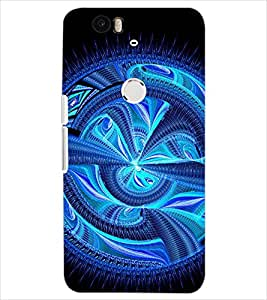 PrintDhaba NEW ERA ART D-6263 Back Case Cover for HUAWEI NEXUS 6P (Multi-Coloured)