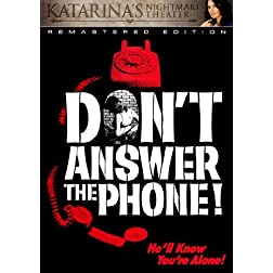 Don't Answer The Phone (Katarina's Nightmare Theater) Remastered Edition