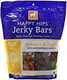DOGSWELL 842248 Happy Hips Chicken Veggie Jerky Bar for Pets, 32-Ounce
