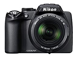 Nikon Coolpix P100 10 MP Digital Camera with 26x Optical Vibration Reduction (VR) Zoom and 3-Inch LCD (Black) (OLD MODEL)