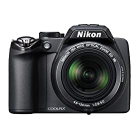 Nikon Coolpix P100 10 MP Digital Camera with 26x Optical Vibration Reduction (VR) Zoom and 3.0-Inch LCD (Black)