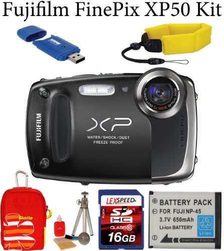 Fujifilm FinePix XP50 Waterproof Digital Camera