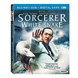 The Sorcerer and The White Snake [Blu-ray+DVD+Digital]