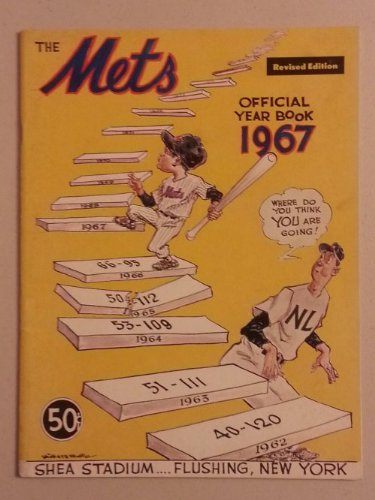1967 Mets Yearbook Revised New York Mets Excellent at Amazon.com