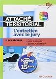 Visa - Attaché territorial - L'entretien avec le jury - Mon planning en 15 jours