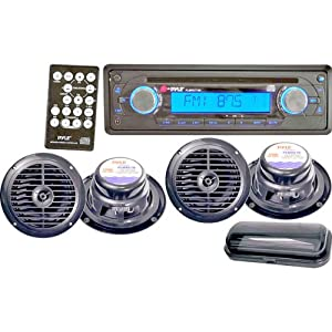 Buy PYLE Audio In-dash CD Players - Pyle-car Audio/video Pyle Audio, Inc am/fm In-dash Marine Cd Player [plmrkit106] -