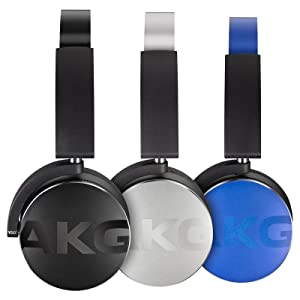 AKG Bluetooth Headphone Black (Y50BTBLK) (Color: Black)