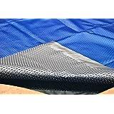 Splash pools round solar pool cover 15 feet swimming pool solar blankets patio for Swimming pool solar heaters amazon