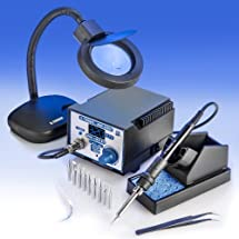 X-TRONIC MODEL #4010-XTS - 4000 SERIES - Digital Soldering Iron Station