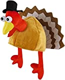 Novelty Christmas Turkey Hat With Head, Legs And Tail