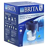 Brita Water Filtration System, Pitcher, Classic Model, 1 system