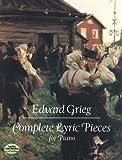 echange, troc Grieg - Intégrale des Pièces Lyriques - Piano
