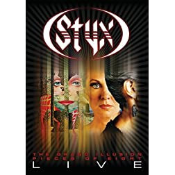 Styx: The Grand Illusion / Pieces of Eight- Live [DVD / 2CD]