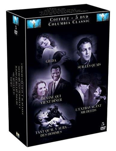 Coffret Best Of Columbia Classics 5 DVD : L'Extravagant Mr Deeds / Gilda / Sur Les Quais / Tant Qu'Il Y Aura Des Hommes / Devine qui vient diner