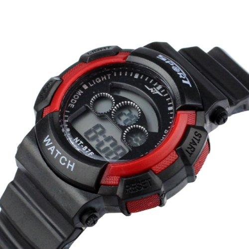 Aokdis (Tm) Hot Selling Fashion Waterproof Boy'S Sports Led Light Electronic Wrist Watch