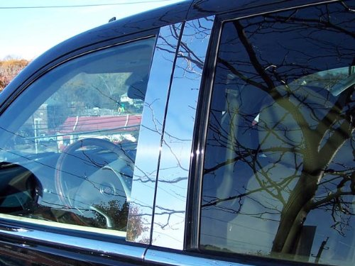 escalade-2007-2014-cadillac-4-pc-stainless-steel-pillar-post-trim-kit-4-door-suv-ext-pp47255qaa