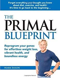 "Cover of ""The Primal Blueprint: Reprogram..."