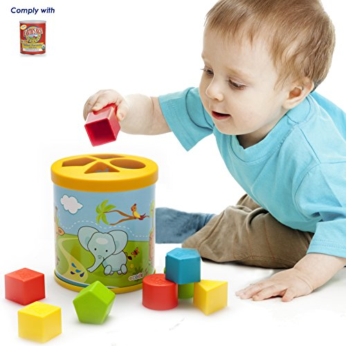 Ecodu Complementary Shape Sorter for Earth's Best Infant Formula, 23.2 Ounce