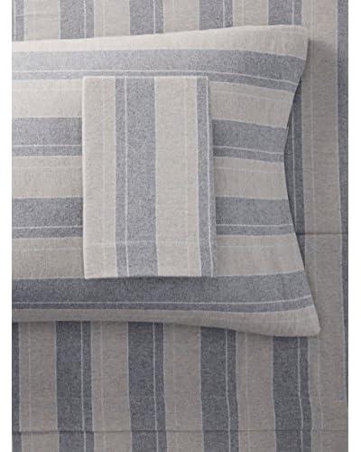 Belle Époque Flannel Sheet Set Plaid