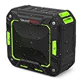 SoundPEATS Portable Bluetooth Speakers Outdoor Wireless Speakers Water Resistant Shower Speaker (5W Driver, IP65 Waterproof / Dustproof, 10 Hours Play Time, Enhanced Bass, Built in Mic) - P2