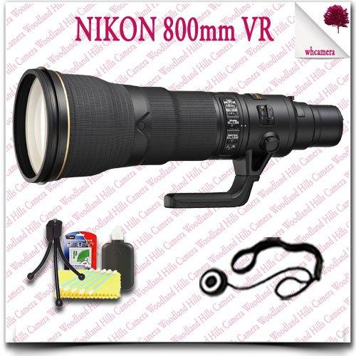 Nikon Af-S Nikkor 800Mm F/5.6E Fl Ed Vr Lens 5Pc Nikon Saver Bundle