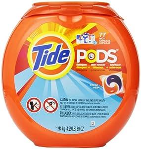 Tide Pods Laundry Detergent Ocean Mist Scent, 77 Count